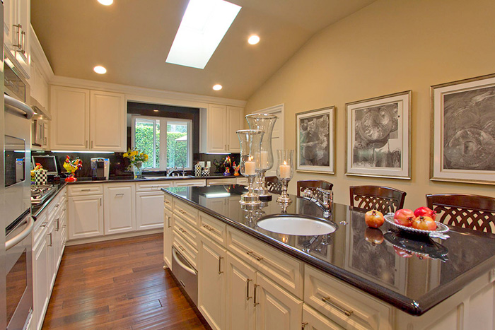 White Kitchen Vs Wood white versus wood kitchen cabinets - capid