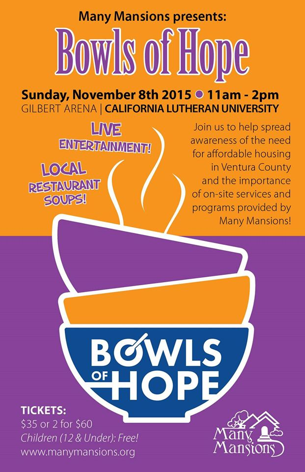 Many Mansions Bowls of Hope