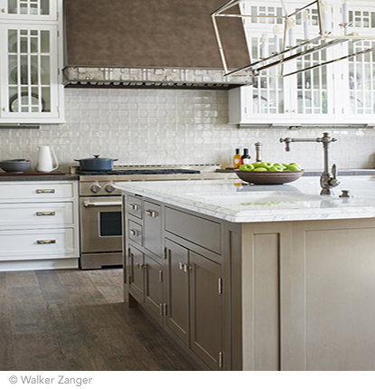 ceramica and terracotta kitchen mosaic