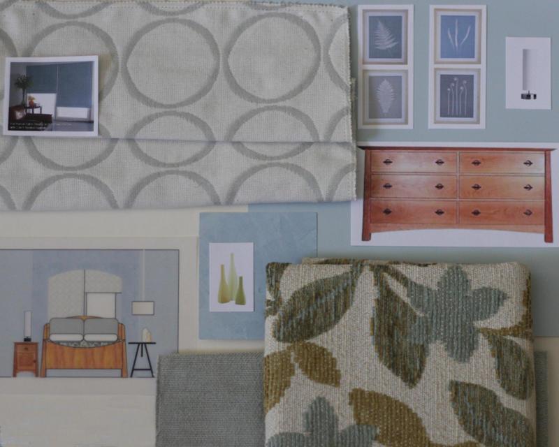 Designer Sample Board, Joanna Forbes