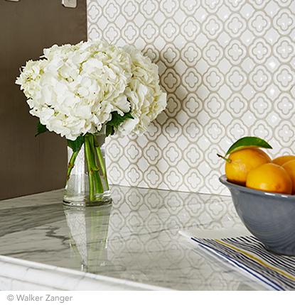 white kitchen mosaic
