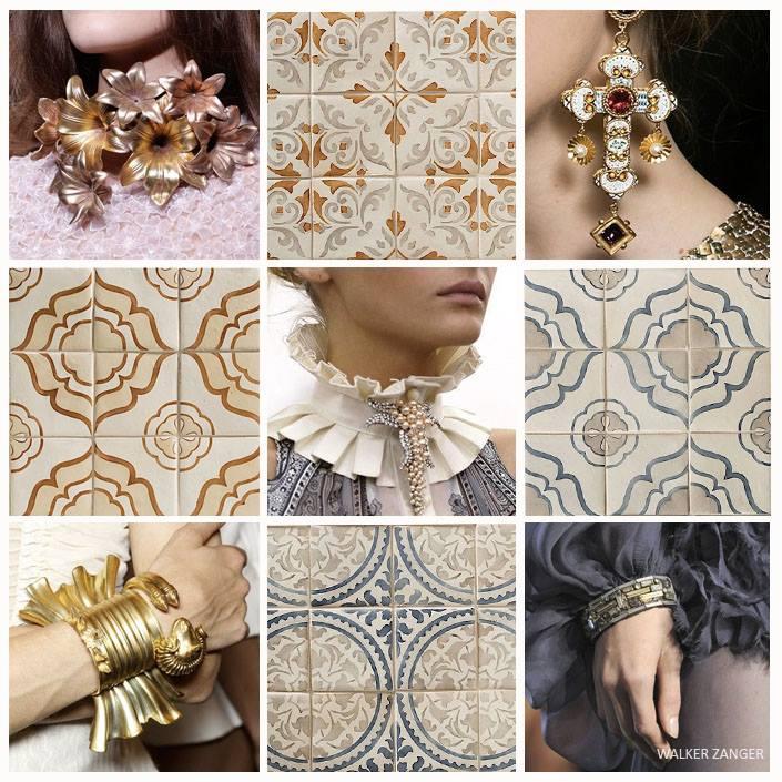 Mosaic Design Jewelry