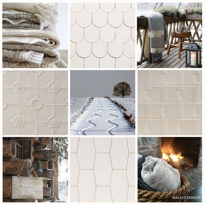 winter tile and stone