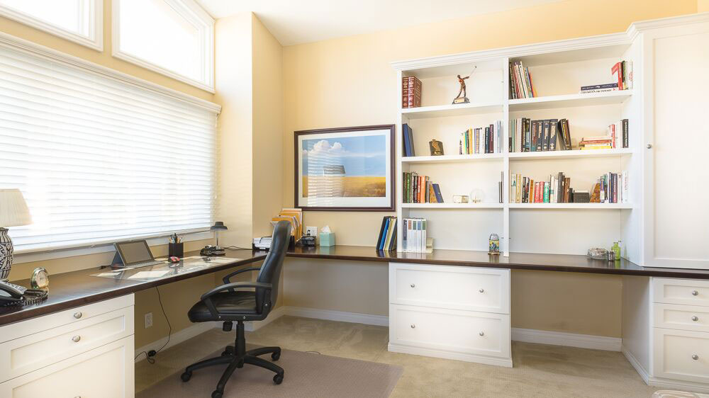 office in transitional style